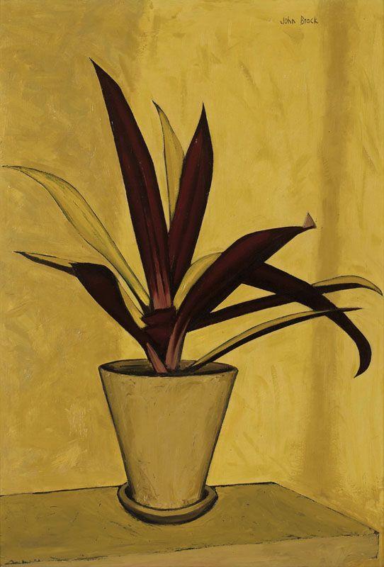 John Brack, Pot Plant, 1957