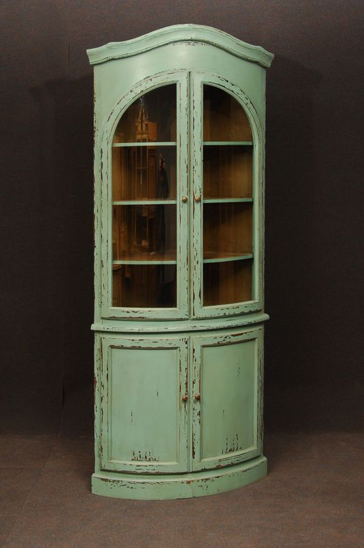 1000 Images About Corner Cabinet On Pinterest Painted