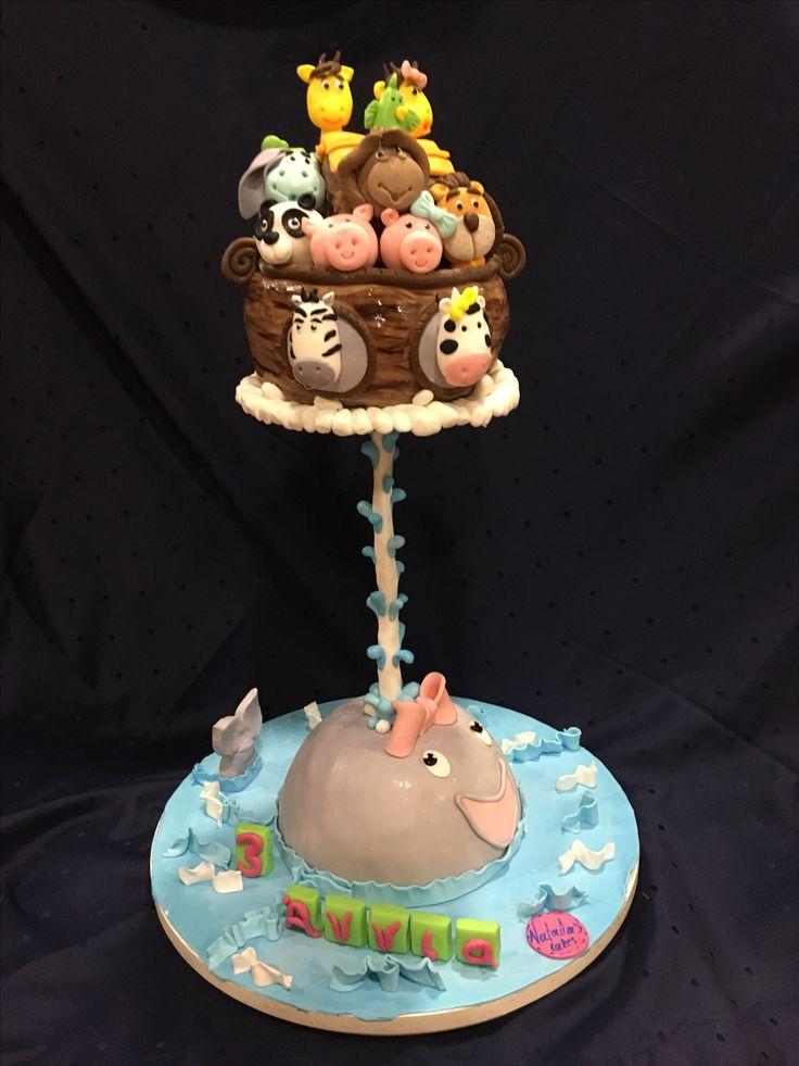 Defying gravity cake!