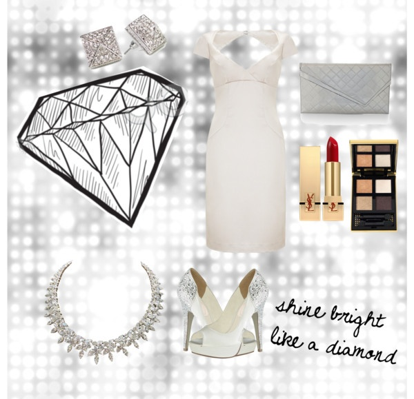 """shine bright like a diamond"" by arianitjarinto on Polyvore"