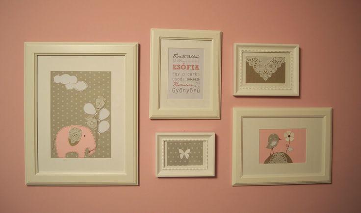 DIY nursery decoration / Csináld magad dekoráció babaszobába