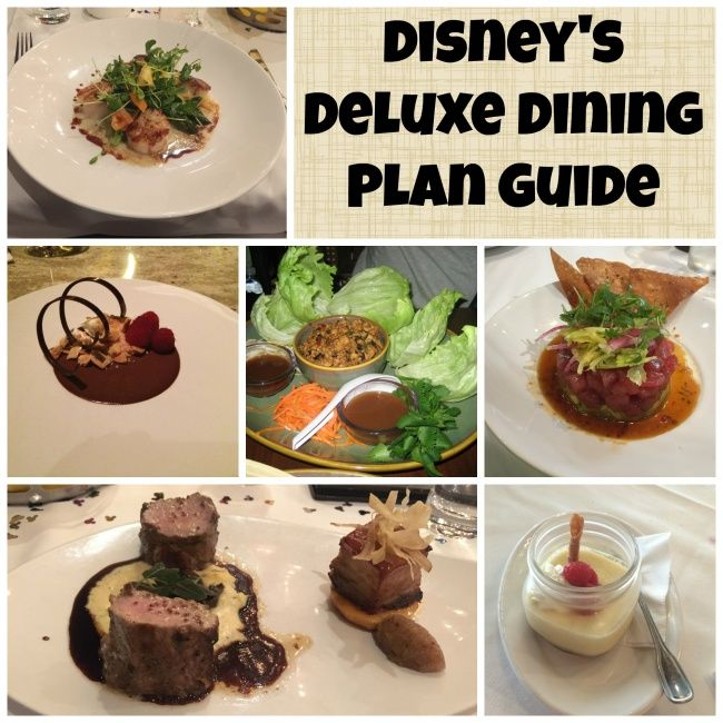 Magic Your Way Deluxe Dining Plan Guide Disney S Disney