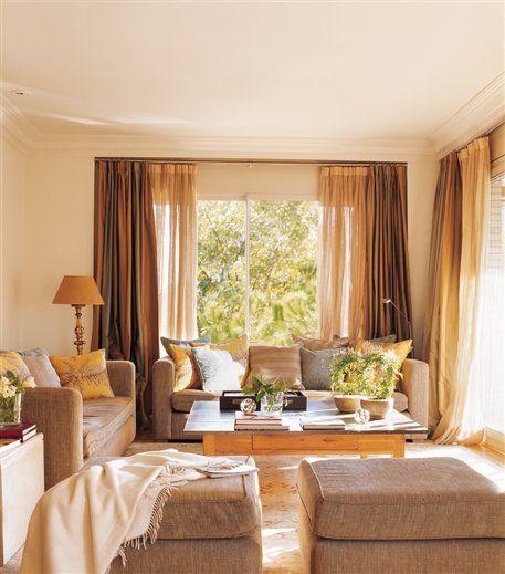 17 mejores ideas sobre cortinas para salas de estar en pinterest