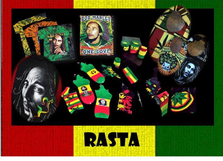RASTA T-SHIRTS & ACCESSORIES
