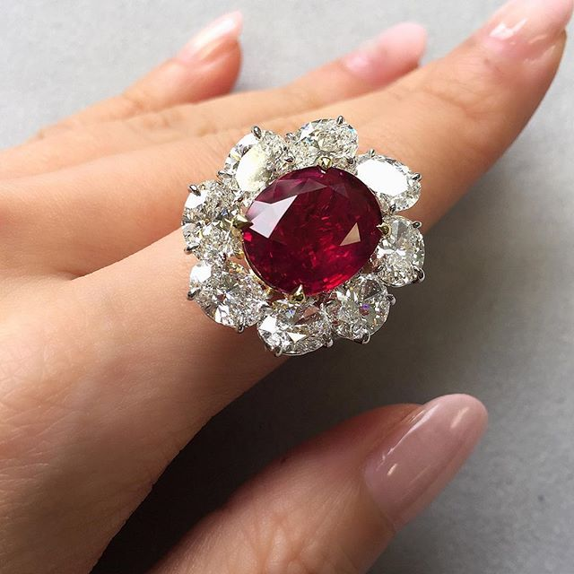 On View Now At Geneva A 10 05 Carats Burmese Ruby And