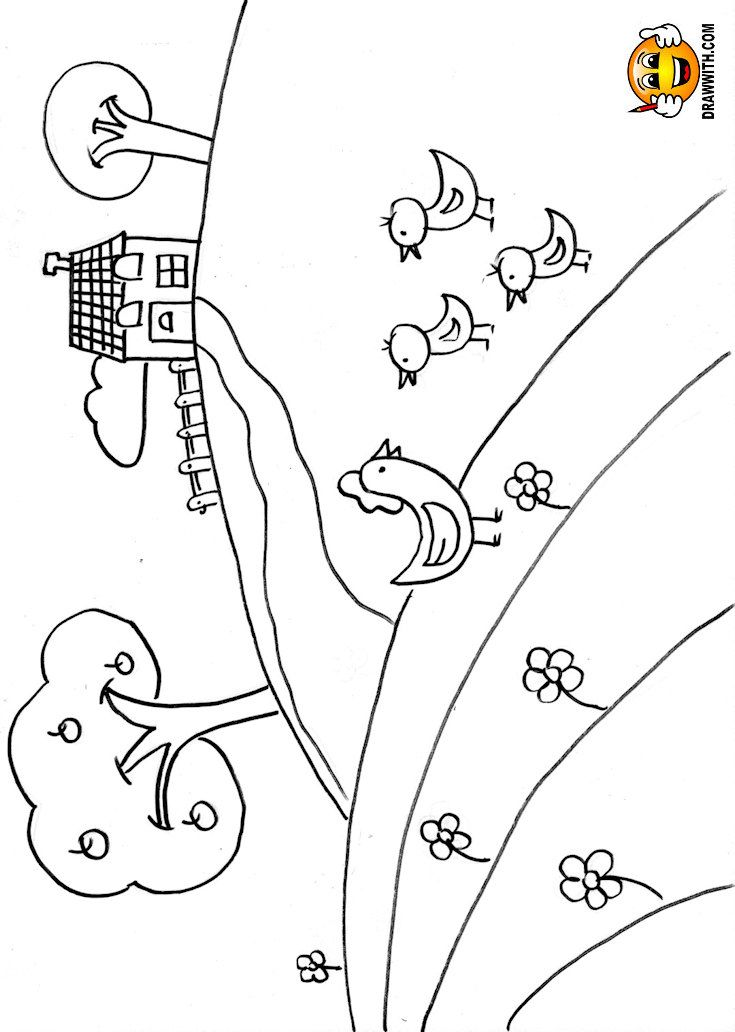 Free house with chickens coloring pages for kids which includes a color along video tutorial. coloring pages for kids, coloring book videos, learn to color for kids, coloring for kids, coloring book videos, learn to color, colouring pages, coloring pages, colouring page, coloring page, how to color, coloring for toddlers, coloring for tweens, coloring for teens, coloring for children
