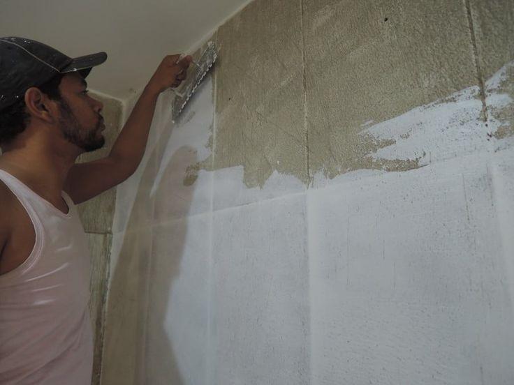 Azulejos: como emassar parede de forma simples?
