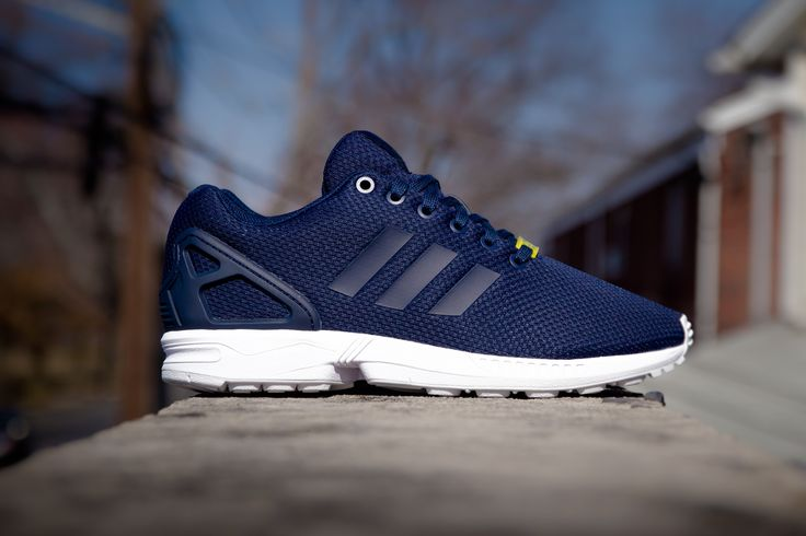 Adidas Flux Blue And White