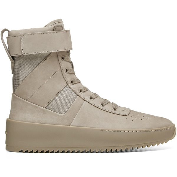 Fear of God Mens Military Boot ($1,680) ❤ liked on Polyvore featuring men's fashion, men's shoes, men's boots, mens military boots, mens army boots, mens boots, mens combat boots and mens shoes