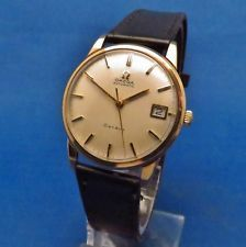 OMEGA GENEVE 9CT GOLD AUTOMATIC WRISTWATCH MODEL NO. 161/25418 CAL 565