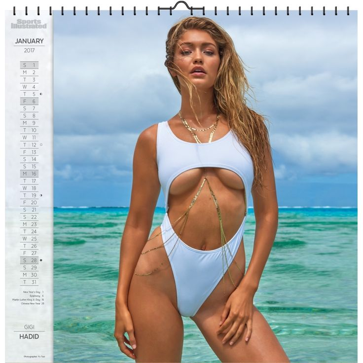 Sports Illustrated Swimsuit 2019 Wall Calendar Sexy And