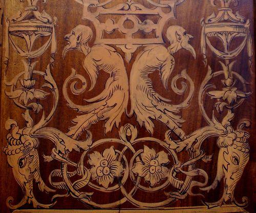 Perugia, Oratorio della Nobilissima Confraternita dell'Annunziata, Intarsie (intarsia) | Flickr - Photo Sharing!