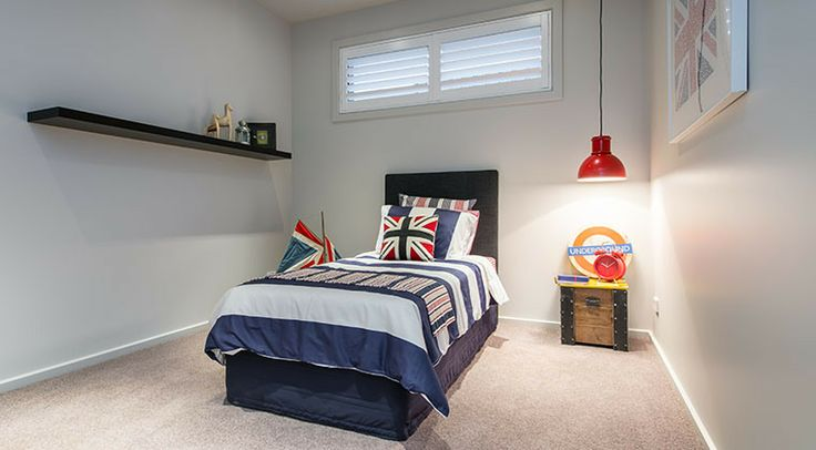 The third bedroom has ample space for the growing child. #bedroom