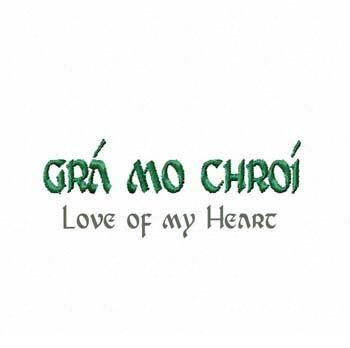"""""""graw muh khree """"--pronunciation in Irish"""