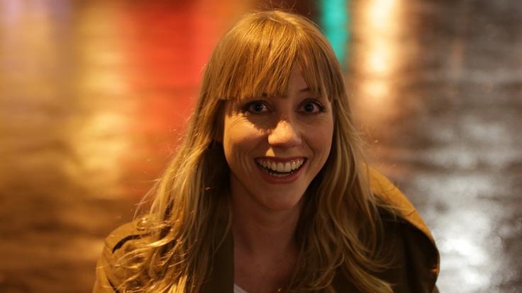 La plus souriante des présentatrices, c'est AnneSo, et en plus c'est naturel!