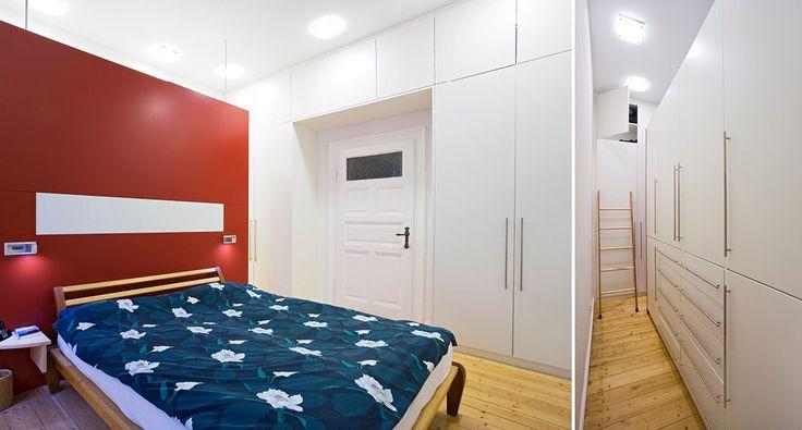 Kleiderschrank und Einbauschrank in Weiß lackiert mit Holz und nach Maß