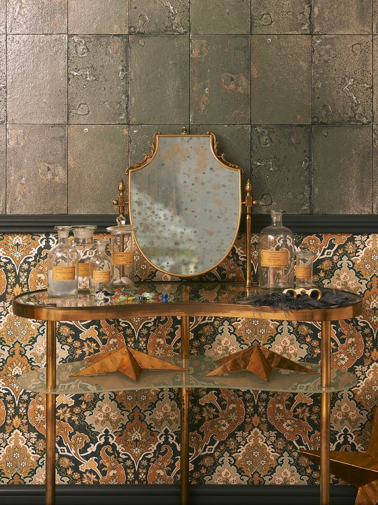 Cole & Son Mariinsky Antique Mirror Paste the Wall