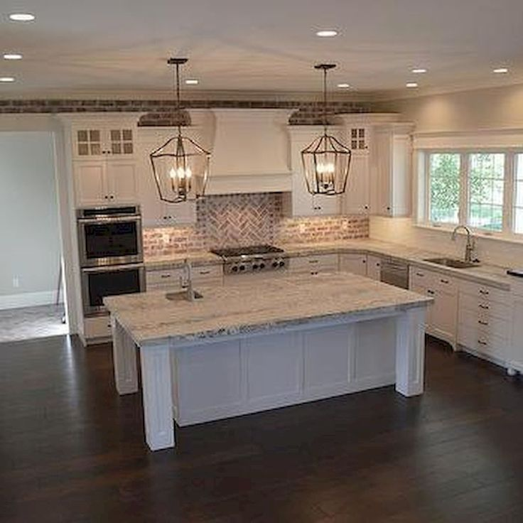 50 elegant farmhouse kitchen decor ideas 21 farmhouse