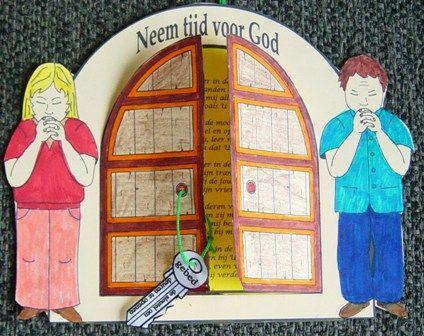 Gebed is de sleutel.  www.gelovenisleuk.nl