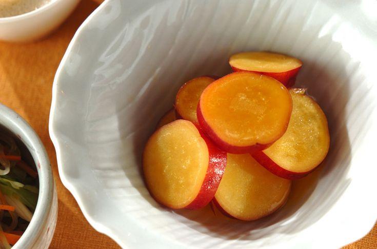 サツマイモのオレンジ煮のレシピ・作り方 - 簡単プロの料理レシピ | E・レシピ