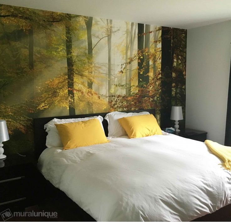 Sinfonia Della Foresta  | Buy Prepasted Wallpaper Murals Online - Muralunique.com