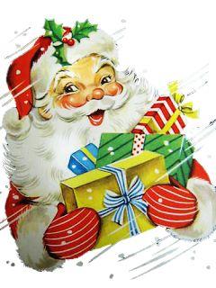 Vintage Santa... I love these happy santas!!