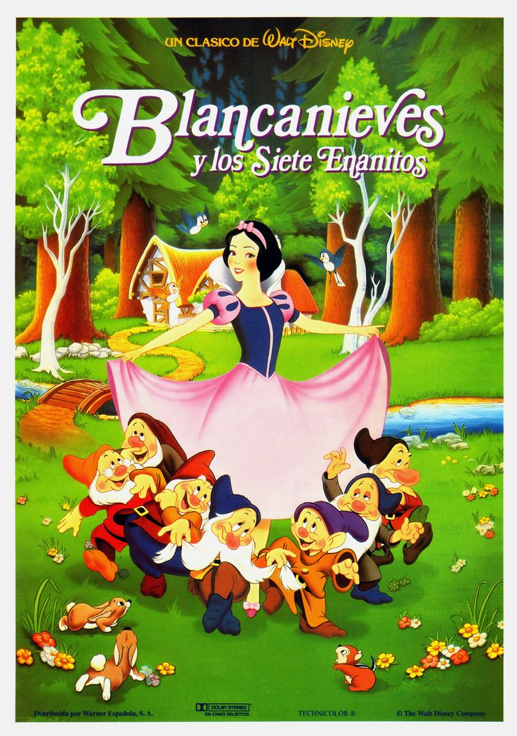 1937 - Blancanieves y los siete enanitos - Snow White and the Seven Dwarfs - tt0029583