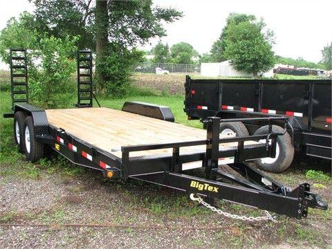 2013 BIG TEX 14ET Flatbed Trailers For Sale At TruckPaper.com