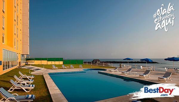 City Express La Paz es un hotel de negocios con precios accesibles en la parte norte de #LaPaz, situado al final del malecón. Cuenta con 124 Habitaciones, ofrece piscina exterior y servicio de transportación desde el hotel hasta 10 km a la redonda e incluye en la tarifa beneficios como desayuno, gimnasio y acceso a Internet en todas las instalaciones. #OjalaestuvierasAqui