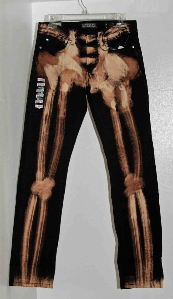 Skeleton Bleach Black Skinny Jeans | Glow, The o'jays and ...