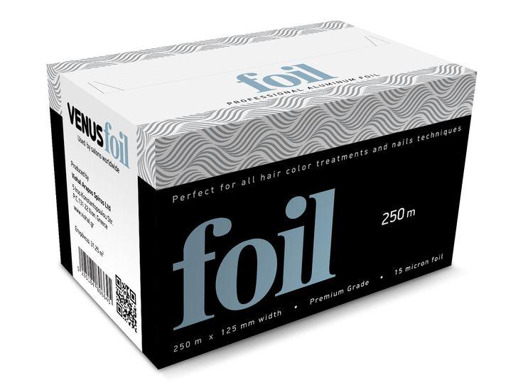Αλουμινόχαρτο Κομμωτηρίου σε ρολό από ειδικό υλικό το οποίο είναι ιδανικό για όλες τις χρωματικες επεξεργασίες των μαλλιών αλλά και τις τεχνικές των νυχιών || Διαστάσεις: 250m x 125mm και 15-micron πάχος ************************** Aluminum foil roll perfect for all hair color treatments and nail techniques || Dimensions: 250m x 125mm x 15-micron