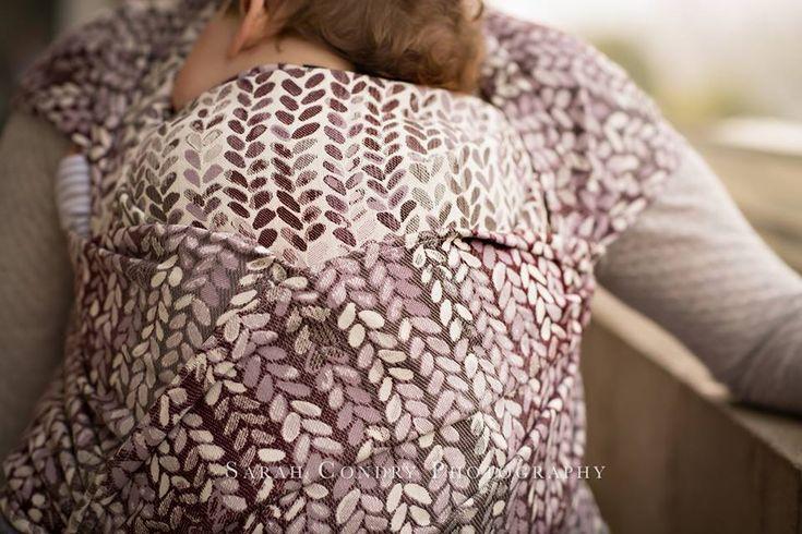 Woven Wings Knitwear Merlot Wrap (merino) sz 6