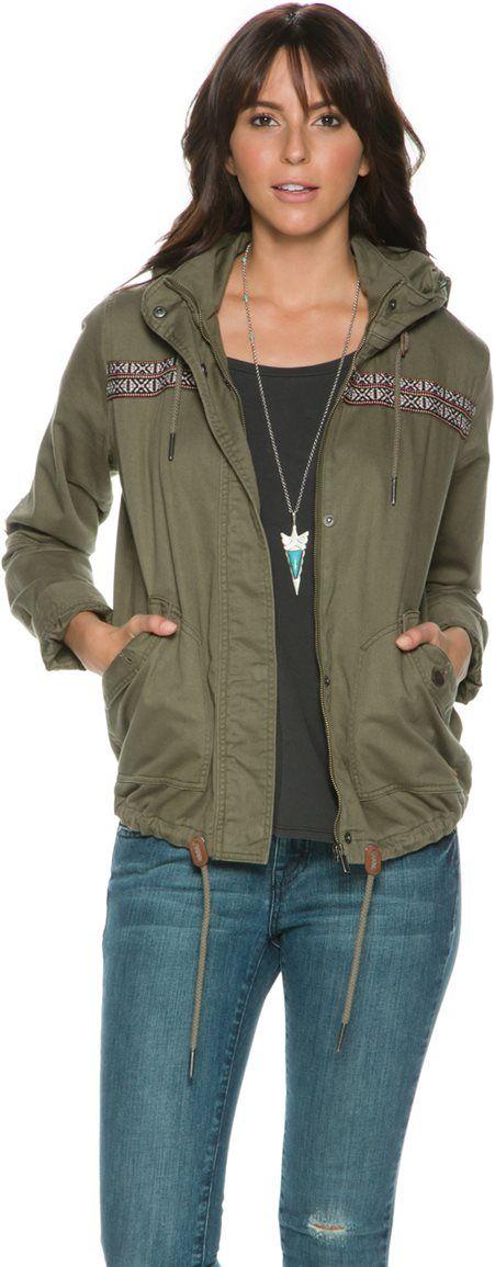 Roxy Wintercloud Utility Jacket. http://www.swell.com/New-Arrivals-Womens/ROXY-WINTERCLOUD-UTILITY-JACKET?cs=OL