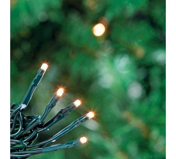 Buy 240 Multi-Function LED Christmas Tree Lights - Warm White at Argos.co.uk - Your Online Shop for Christmas lights, Christmas trees, lights and decorations, Home and garden.