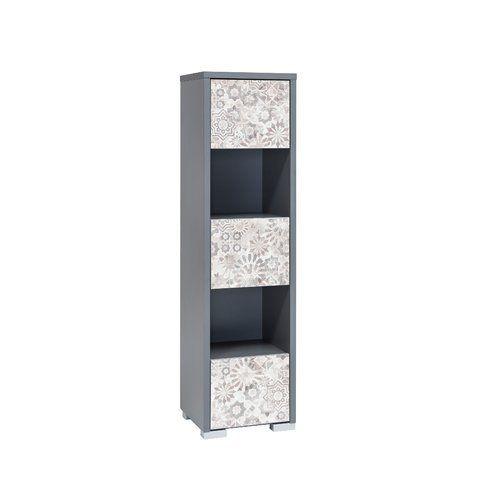 38 X 142 Cm Hochschrank Katzer Brayden Studio Color Style Grey White Cabinet Shelving Free Standing Cabinets Bathroom Cabinets