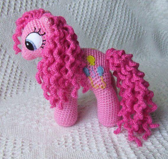 Вязаная пони (Вязаные игрушки)   Журнал Вдохновение Рукодельницы