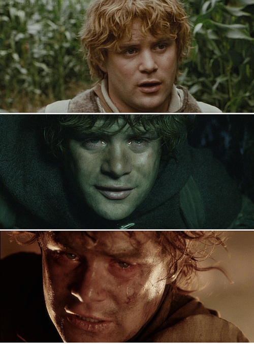 from hobbit to hero frodos Temptation of the hero-hobbit: the ring begins to work its evil on bilbo   jackson's frodo is very different from his and tolkien's bilbo, and the.
