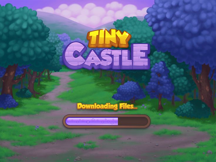 Dribbble - tiny_castle_logo_v1_full.png by Melissa Pohl
