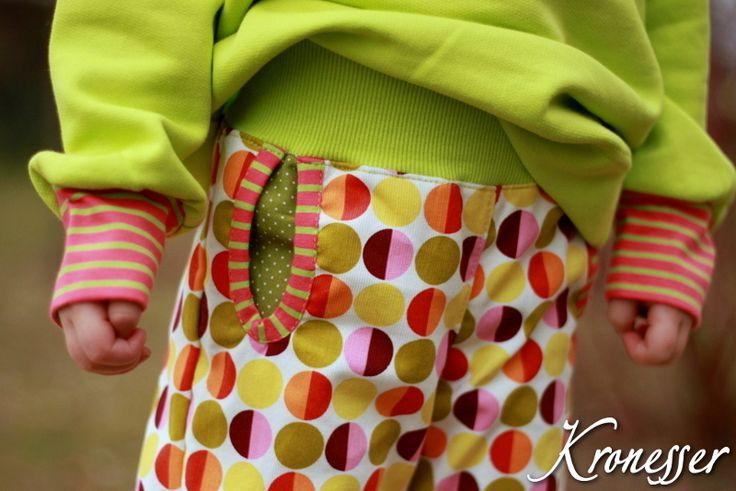 Retro Kinderhose // Retro child's trousers by kronesser via DaWanda.com