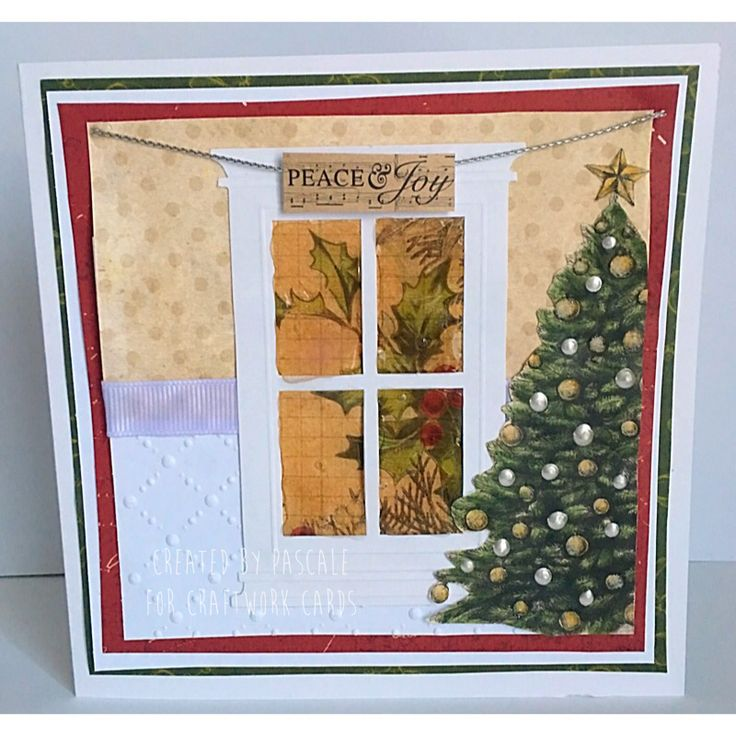 Made by Pascale for Craftwork Cards using Christmas Cheer Kit