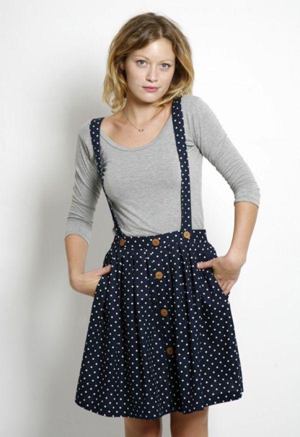 Faldas con tirantes 1