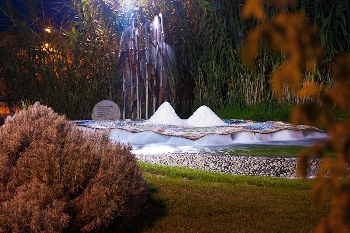 La fontana del tappeto sospeso  Cervia