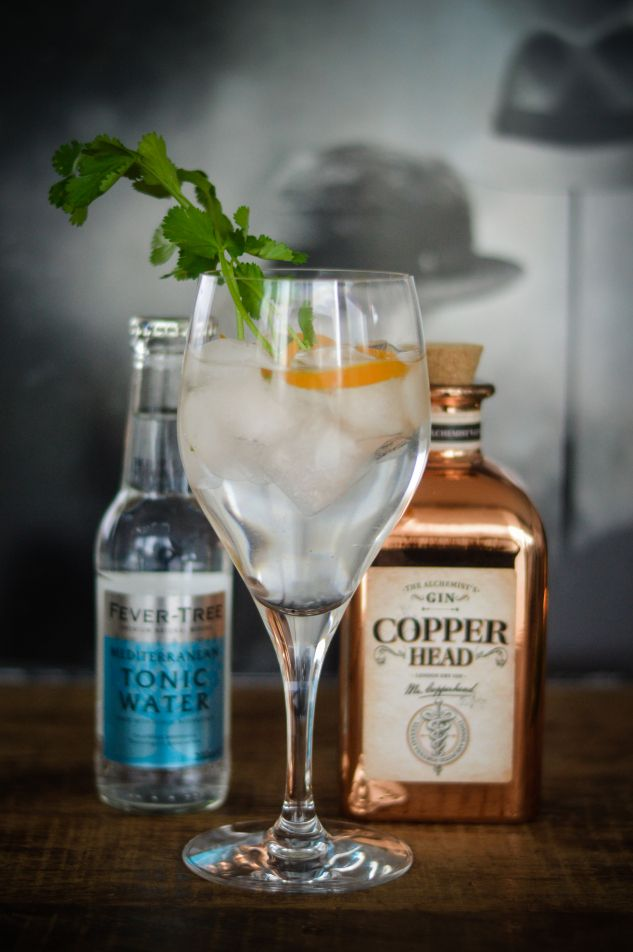 Gin tonic homemade