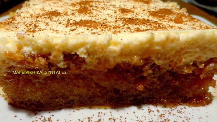 ΜΑΓΕΙΡΙΚΗ ΚΑΙ ΣΥΝΤΑΓΕΣ: Πολίτικο γλυκό με μαστίχα & κρέμα. Θεικό !!!!
