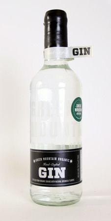 Organic gin - I wanna try this!