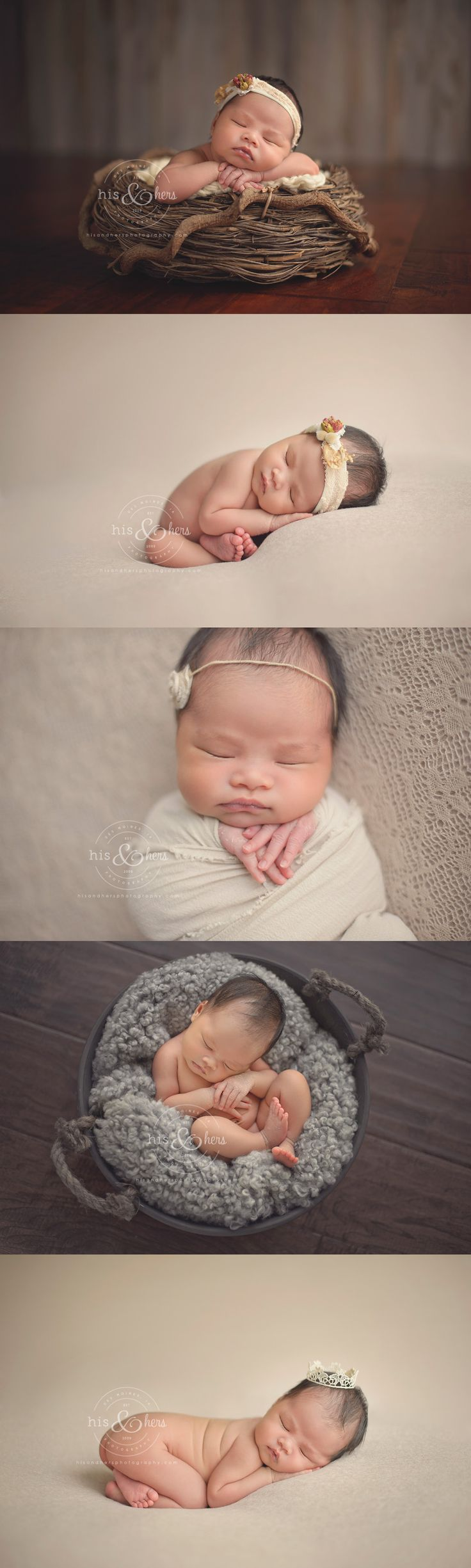 9-day-old Alexandria | Des Moines, IA photographer, Darcy Milder | His & Hers