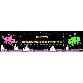 80's Personalized Banner (Each)