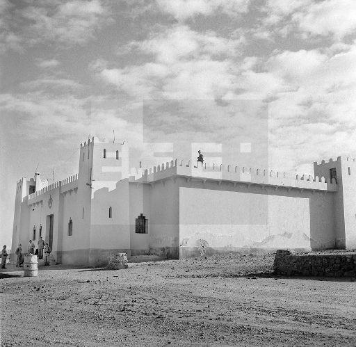 uerra de Ifni.- Cuartel del Ejército español.- (Sin fecha, 1957-58) EFE / jt