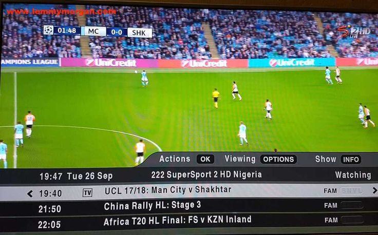 DStv compact UCL football limited offer is ongoing in