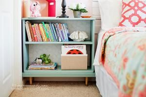 Looking for bookshelf ideas for that flea market or thrift store find? Here are 25 DIY bookcase makeovers you have to see.